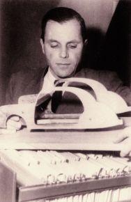 Start der Pkw-Sicherheitsentwicklung durch Béla Barényi