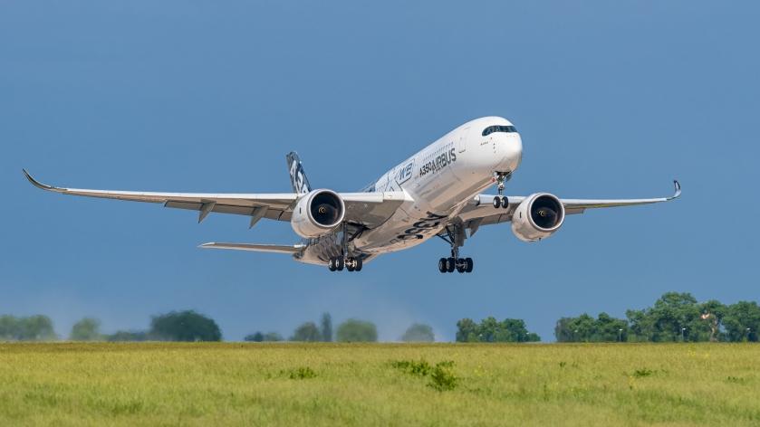 Airbus A350-941 F-WWCF MSN002 ILA Berlin 2016